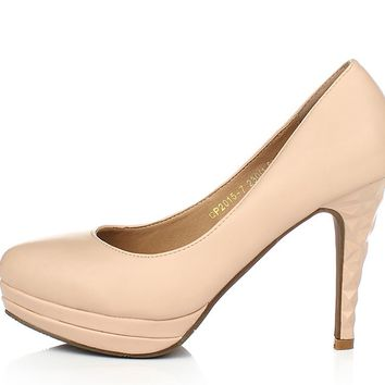 Womens Trendy Sculpted Heels