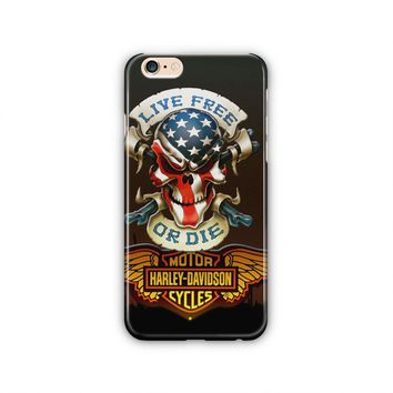 Harley Davidson Cycles Design #2 Ultra-Thin, Slim and Anti-Scratch Cover for iPhone 6 Plus/6s Plus