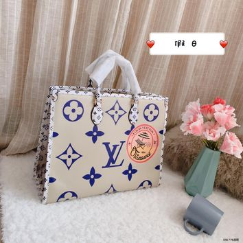 Top Quality LV  Women Leather Tote Bag Shoulder Bag Messenger Bag Shopping Bag