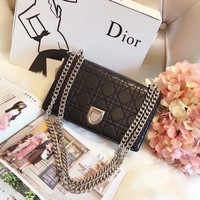 """Dior""Fashion classic hand Messenger bag"