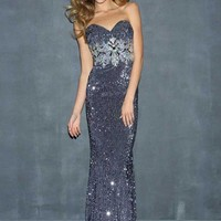 Night Moves 7016 at Prom Dress Shop