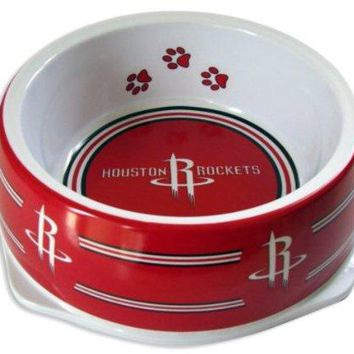 Houston Rockets Slam Dunk Small Pet Bowl