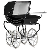 Silver Cross Balmoral Pram in Black