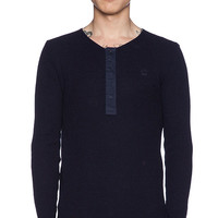 G-Star Granddad Henley in Navy