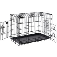 "Pet Trex PT2301 30"" Folding Pet Crate Kennel Wire Cage for Dogs, Cats or Rabbits"