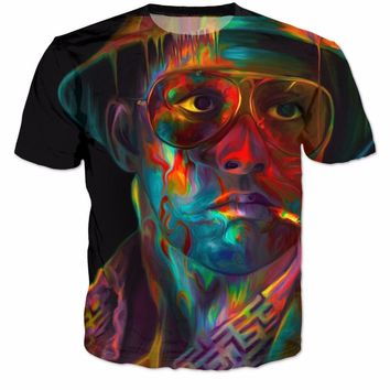Fear And Loathing In Las Vegas T-Shirt Women Men Tshirt Graphic tees Outfits Trippy t shirt Summer Outfits Harajuku tops R2901
