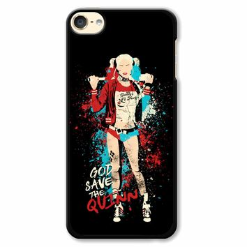 Harley Quinn God Save The Quinn iPod Touch 6 Case