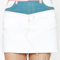 PacSun Colorblock Yoke Skirt at PacSun.com
