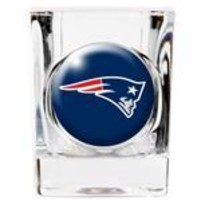 Personalized NFL Shot Glass - Patriots