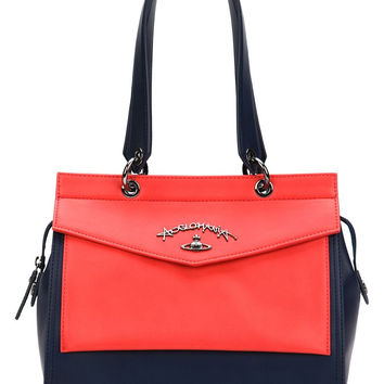 Zoomania Shoulder Bag in Navy and Red