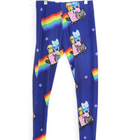 Nyan Kitty Adventure Leggings
