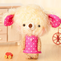 amigurumi toy in pink - made to order- Lua -