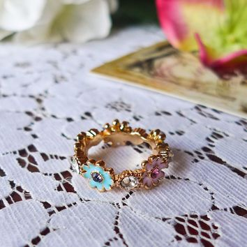 Daisy Days Ring Multi