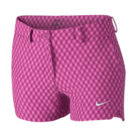 Nike Gingham Girls' Golf Shorts