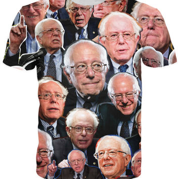 Bernie Sanders Paparazzi T-Shirt Men Women 3D t shirt Summer Style Fashion Clothing