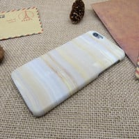 Color stripe marble iPhone 7 7 plus iphone 5 5s SE 6 6s 6 plus 6s plus case + Nice gift box 072601