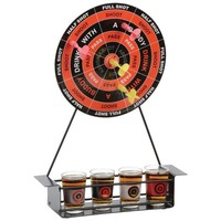Maxam Magnetic Dart Shot Game Adult Party Drinking Game Set