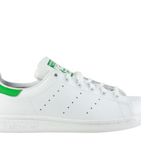 Adidas Original's Big Kid's Stan Smith White Green