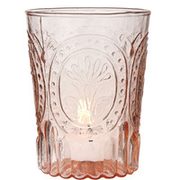 Vintage Blush Glass Tumbler
