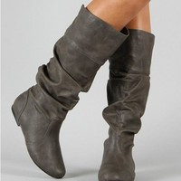 Women martin ankle boots Autumn winter snow boots Genuine leather Long Warm Boots