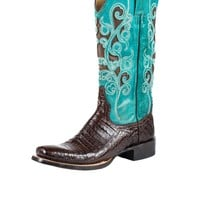 Stetson Alia Womens Cowboy Boots - Narrow Square Toe