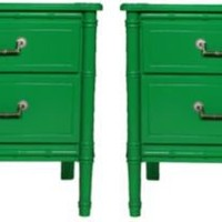 Bamboo End Tables, Pair - One Kings Lane - Vintage  Market Finds - Furniture