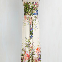 Long Strapless Maxi Queen of the Wildflowers Dress