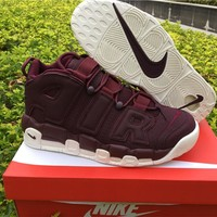 Nike Air More Uptempo AIR Maroon 921949-600 US7-12