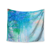 "Ebi Emporium ""Childlike Wonder"" Blue Pastel Wall Tapestry"
