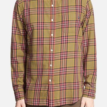 Men's Obey 'Bowen' Trim Fit Woven Plaid Shirt