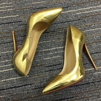 Christian Louboutin Cl Pumps High Heels Reference #02bk6 - Best Deal Online