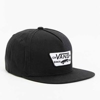 Vans Full Patch Snapback Hat