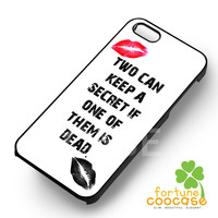 TV Show Pretty little liars Quote -5s4 for iPhone 4/4S/5/5S/5C/6/6+,samsung S3/S4/S5/S6 Regular/S6 Edge,samsung note 3/4