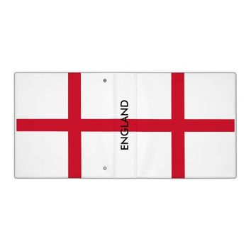 Binder with Flag of England
