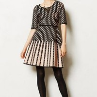 Parker Dress by Anthropologie Neutral Motif