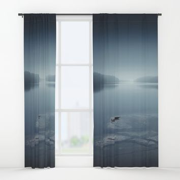 I can´t sleep Window Curtains by HappyMelvin