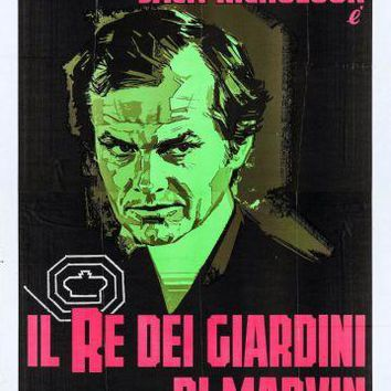King Of Marvin Gardens Italian movie poster Sign 8in x 12in