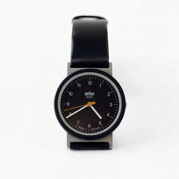 Braun AW 10 wristwatch / Made in Germany / Dietrich Lubs Design / Unisex watch - 90s