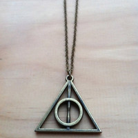 Harry Potter Deathly Hallows Long Necklace