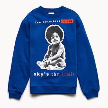 Notorious B.I.G Fleece Sweatshirt