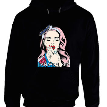 Lana Del Rey Cover Fan Art So Artsy ARF Hoodie