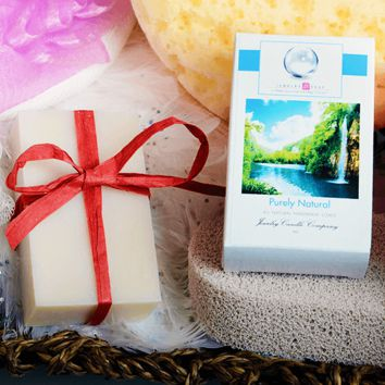 Purely Natural Jewelry Soap ( Unscented ) (Comes with Jewel!))