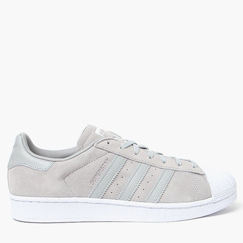 adidas Women's Gray Suede Superstar Sneakers at PacSun.com