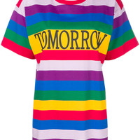 Alberta Ferretti Tomorrow Rainbow T-shirt - Farfetch
