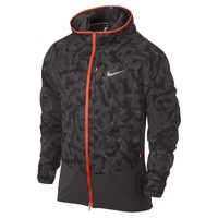 Nike Printed Trail Kiger Full-Zip Packable Men's Running Jacket - Violet Ore