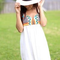 Tequila Sunrise Dress - Ivory