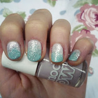 stylesunday: Sparkly Winter Nails