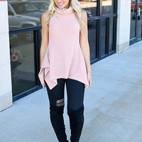 Posh Princess Turtleneck Tunic Top