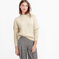 COLLECTION CHUNKY CABLE SWEATER