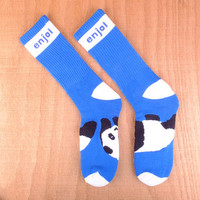 Enjoi Panda Feet Tube Socks